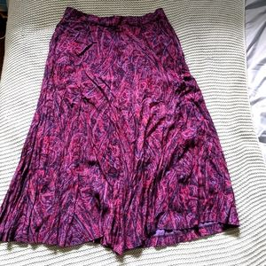 Koret Purple Maxi Skirt